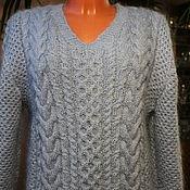 Одежда handmade. Livemaster - original item mohair jumper. Handmade.