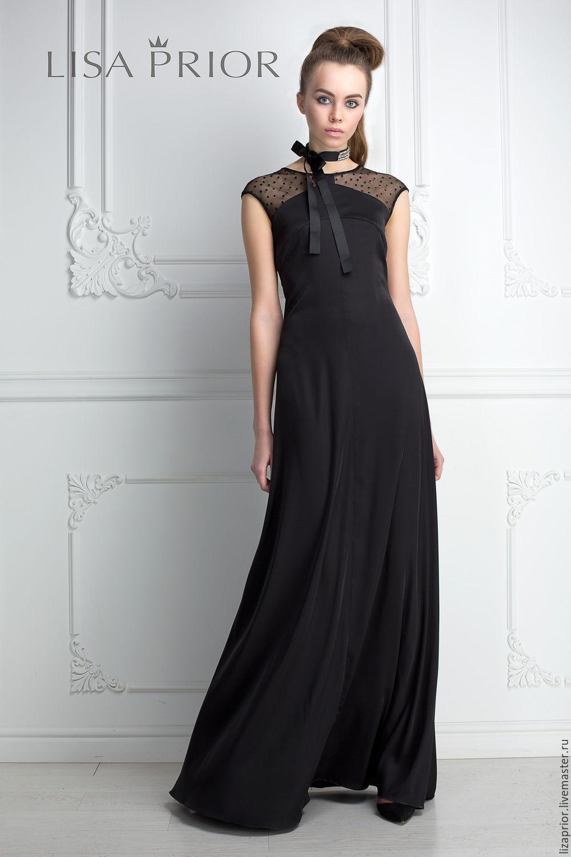Платье искусственный шелк