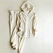 Одежда handmade. Livemaster - original item Suit cashmere ( diamond knit ). Handmade.