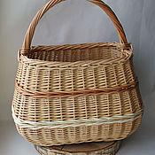 Для дома и интерьера handmade. Livemaster - original item Basket-string bag made of willow vine