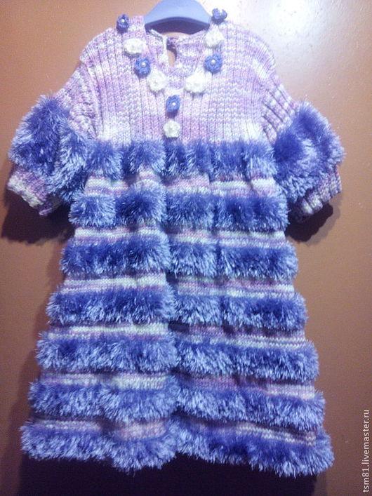 Одежда для девочек, ручной работы. Ярмарка Мастеров - ручная работа. Купить Платье  для  девочки. Handmade. Платье для девочки, платье вязаное