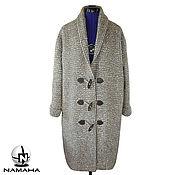 Одежда ручной работы. Ярмарка Мастеров - ручная работа Кардиган теплый, кардиган пальто на подкладке, кардиган вязаный. Handmade.