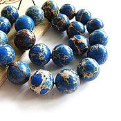 Материалы для творчества handmade. Livemaster - original item Beads Variscite ball 12mm. Handmade.