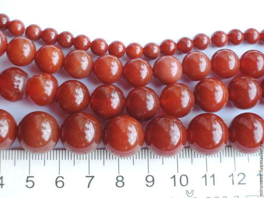 Для украшений ручной работы. Ярмарка Мастеров - ручная работа. Купить Агат тонированный бусины шар (14,12,10мм). Handmade.