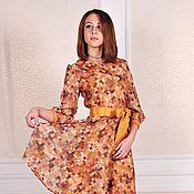 Одежда ручной работы. Ярмарка Мастеров - ручная работа Скидка - 50%Платье с поясом. Handmade.