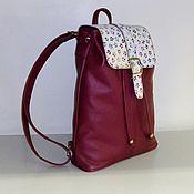 Сумки и аксессуары handmade. Livemaster - original item Backpack leather 96. Handmade.