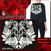Материалы для творчества handmade. Livemaster - original item Bright roses. Composition 4 (application).. Handmade.