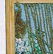 """Картины и панно ручной работы. Ярмарка Мастеров - ручная работа Панно """"Окошко с птицами"""". Handmade."""