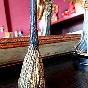 Заговорная свеча ручной работы. Ярмарка Мастеров - ручная работа Метла свеча. Handmade.