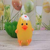 """Мыло ручной работы. Ярмарка Мастеров - ручная работа Сувенирное мыло """"Яйцо-цыпленок"""". Handmade."""
