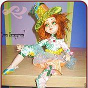 """Куклы и игрушки ручной работы. Ярмарка Мастеров - ручная работа кукла """"Маленькая Кло"""". Handmade."""