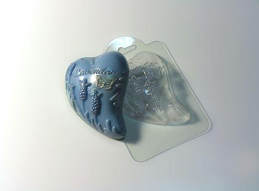 `Лаванда` форма для мыла пластиковая