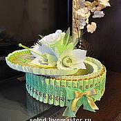 Цветы и флористика ручной работы. Ярмарка Мастеров - ручная работа Упаковочка для сладенького. Handmade.