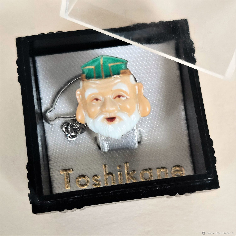 Pin Pin Brooch Toshikane Japan Sage, Vintage cufflinks, Ramenskoye,  Фото №1