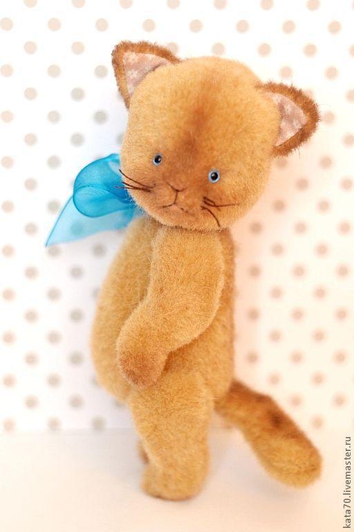 Мишки Тедди ручной работы. Ярмарка Мастеров - ручная работа. Купить БУСЯ.. Handmade. Бежевый, подарок, 5 шплинтов