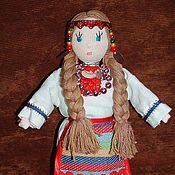 Куклы и игрушки ручной работы. Ярмарка Мастеров - ручная работа аромакукла чувашка. Handmade.
