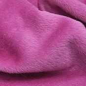 Материалы для творчества handmade. Livemaster - original item Fabric for a natural fur coat (Alpaca, wool) pink. Handmade.