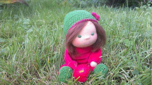 Вальдорфская игрушка ручной работы. Ярмарка Мастеров - ручная работа. Купить Вальдорфская кукла. Handmade. Вальдорфская кукла, пряжа