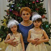 """Диадемы ручной работы. Ярмарка Мастеров - ручная работа Новогодняя корона """"Снежинка"""". Handmade."""