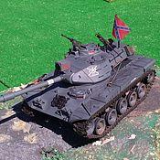 Техника, роботы, транспорт ручной работы. Ярмарка Мастеров - ручная работа Радиоуправляемая модель танка M41 Walker Bulldog. Handmade.