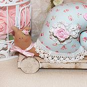 Куклы и игрушки ручной работы. Ярмарка Мастеров - ручная работа Улитка на подставке.. Handmade.
