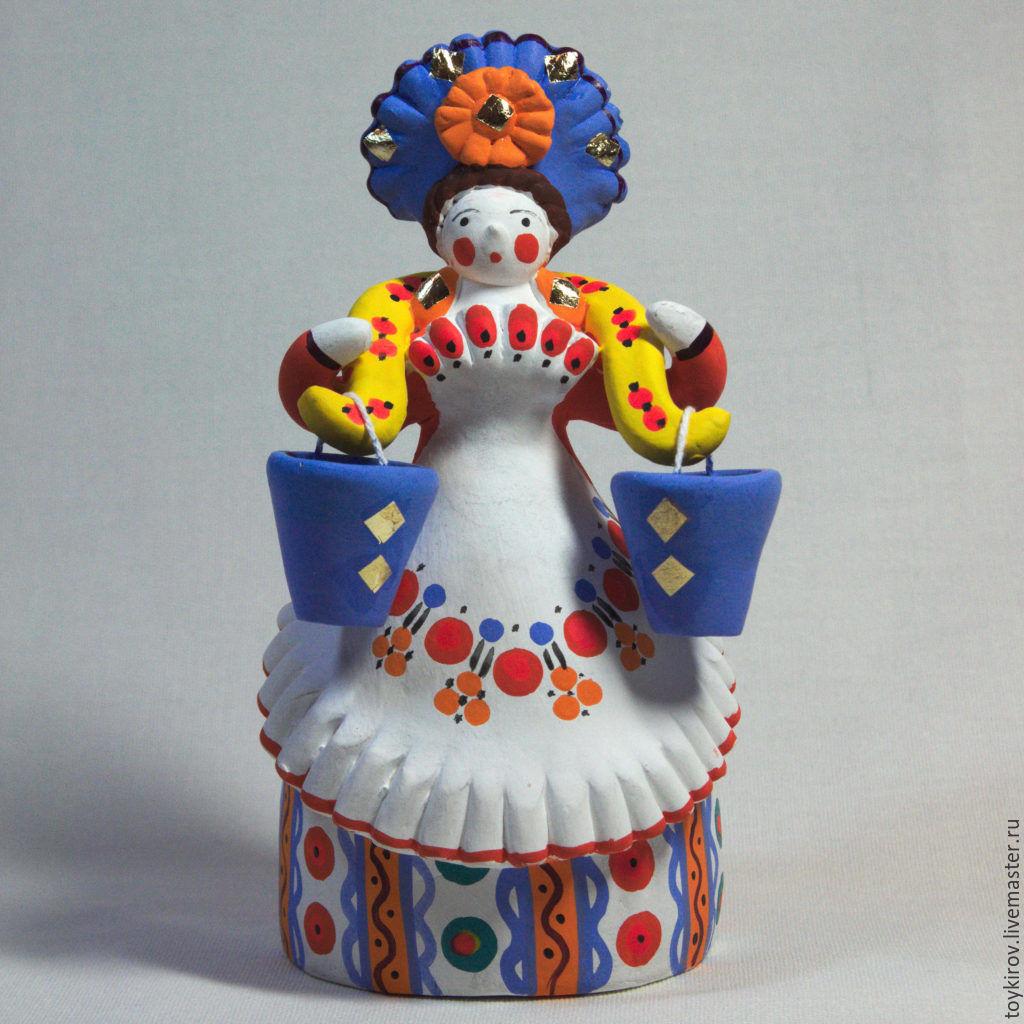 Дымковская игрушка фото с ребёнком