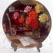 Посуда ручной работы. Ярмарка Мастеров - ручная работа Коллекционная тарелка Royal Mosa, Голландия.. Handmade.