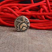 Материалы для творчества handmade. Livemaster - original item Bead for lanyard Spartan ,bead for knife ,beads for knives. Handmade.