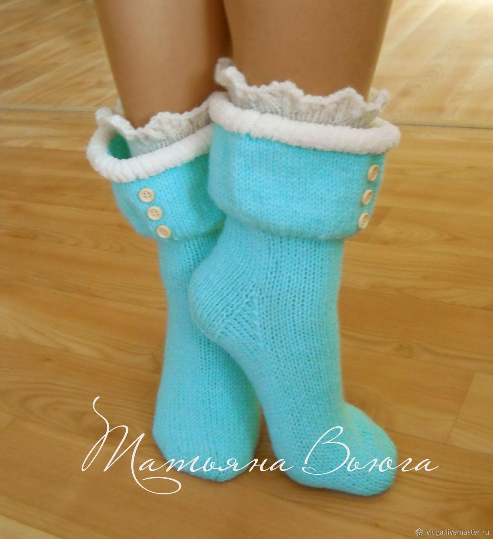 Вязание носков девочке