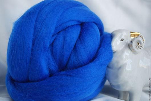 Австралийский топс меринос 18 мкм №207 синий