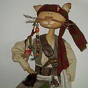Куклы и игрушки ручной работы. Ярмарка Мастеров - ручная работа Котяра Джек Воробей . Коллекционные куклы ручной работы. Handmade.