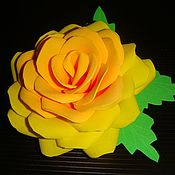 Цветы и флористика ручной работы. Ярмарка Мастеров - ручная работа Цветы из фоамирана. Handmade.