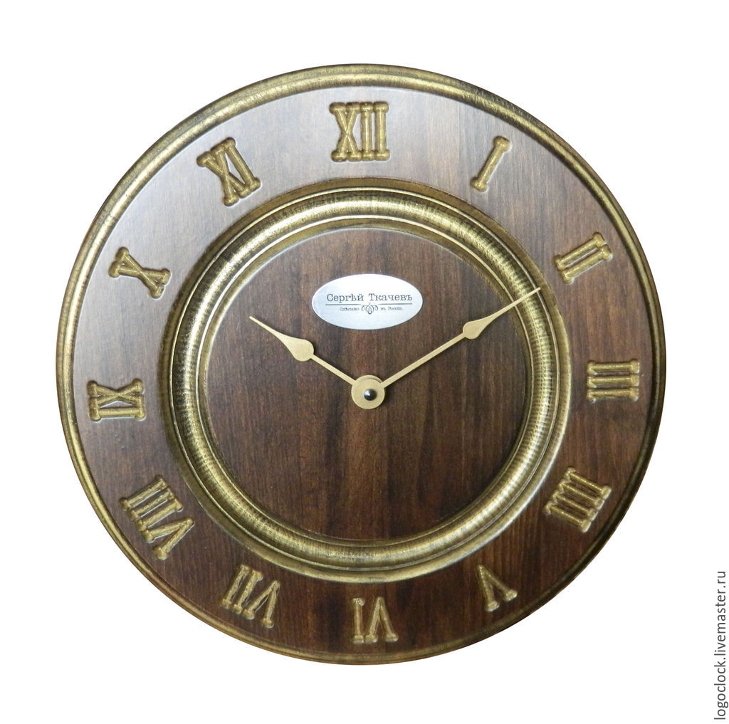 Buy classic wall clock wood vintage a on livemaster online shop clocks for home handmade livemaster handmade buy classic wall clock wood amipublicfo Image collections