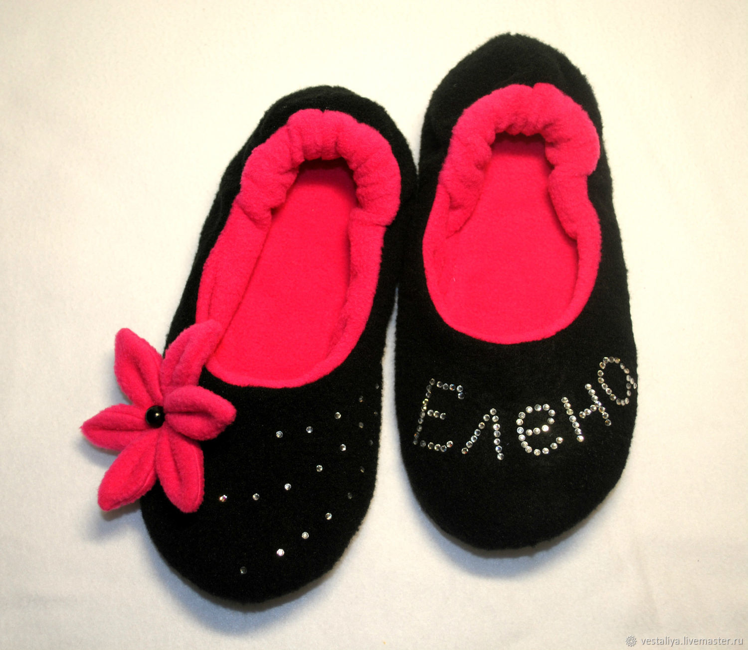 Ballet Slippers with rhinestones, Slippers, Novosibirsk,  Фото №1