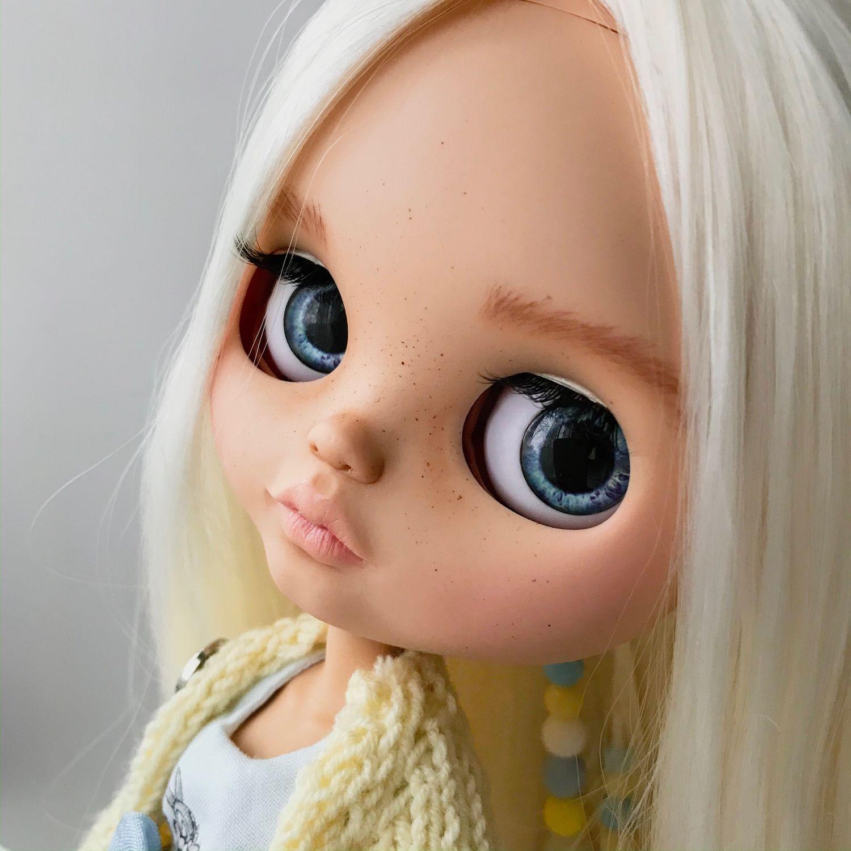 Кукла Блайз! Blythe! Custom doll! Снежка!, Кастом, Кингисепп,  Фото №1