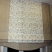 Для дома и интерьера ручной работы. Ярмарка Мастеров - ручная работа Римская штора Элегия/2. Handmade.