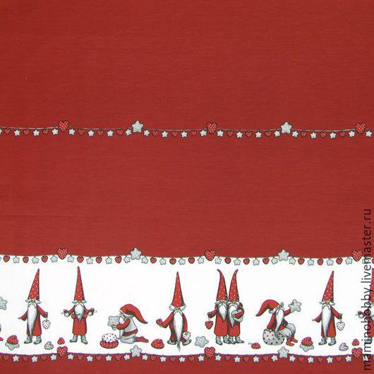 Шитье ручной работы. Ярмарка Мастеров - ручная работа. Купить Плотный хлопок 150 ширина для скатерти Гномы. Handmade. Пэчворк