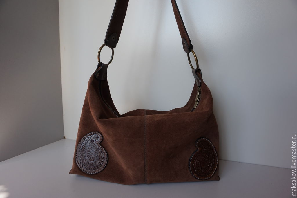 Купить замшевую сумку женскую ст.1145 ТоварМания