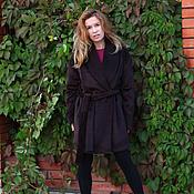 Одежда ручной работы. Ярмарка Мастеров - ручная работа Пальто-халат из кашемира короткое. Handmade.