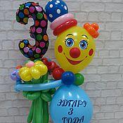 Подарки к праздникам ручной работы. Ярмарка Мастеров - ручная работа Клоун с цифрой. Handmade.