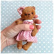 Куклы и игрушки ручной работы. Ярмарка Мастеров - ручная работа Надюша мишка тедди. Handmade.