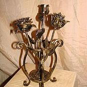 Для дома и интерьера ручной работы. Ярмарка Мастеров - ручная работа Арт1.  Кованые розы. Handmade.