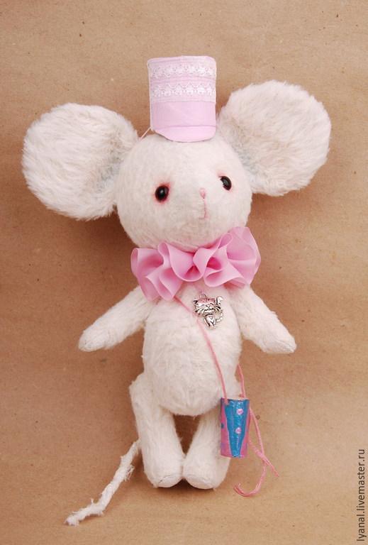 Мышка Тедди-друг мишек тедди мишки тедди купить мишка тедди подарок Мышки, мышка-тедди купить Яна Ленгина (Yana Lengina)