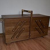 Для дома и интерьера ручной работы. Ярмарка Мастеров - ручная работа Ящик для швейных принадлежностей и рукоделия. Handmade.
