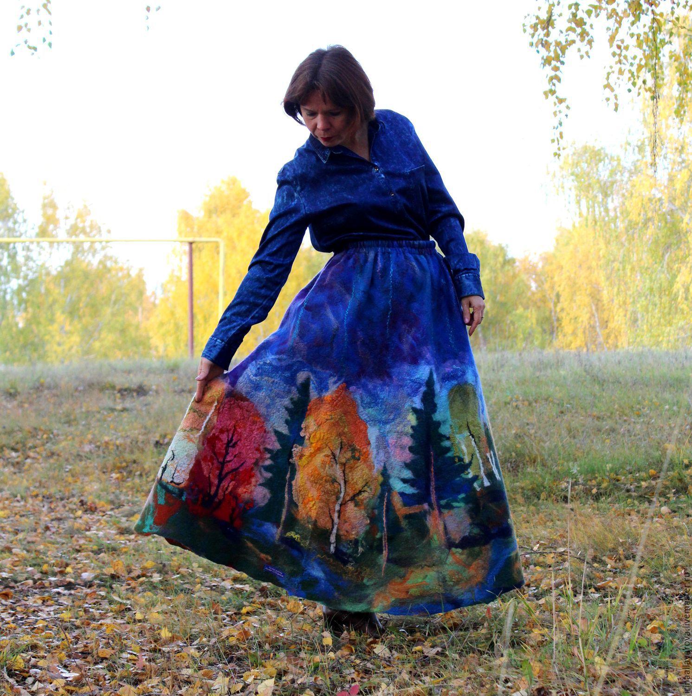 Юбки Осень Доставка