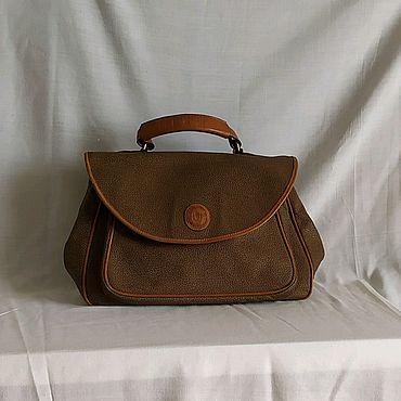 Винтаж ручной работы. Ярмарка Мастеров - ручная работа Итальянская сумка USSARO. Handmade.