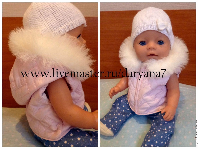 Сшить одежду для беби бона, выкройка в натуральную величину 92