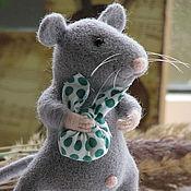 Куклы и игрушки ручной работы. Ярмарка Мастеров - ручная работа мышка-странница. Handmade.