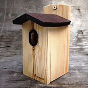 Дача и сад handmade. Livemaster - original item Wooden house of forest and garden birds