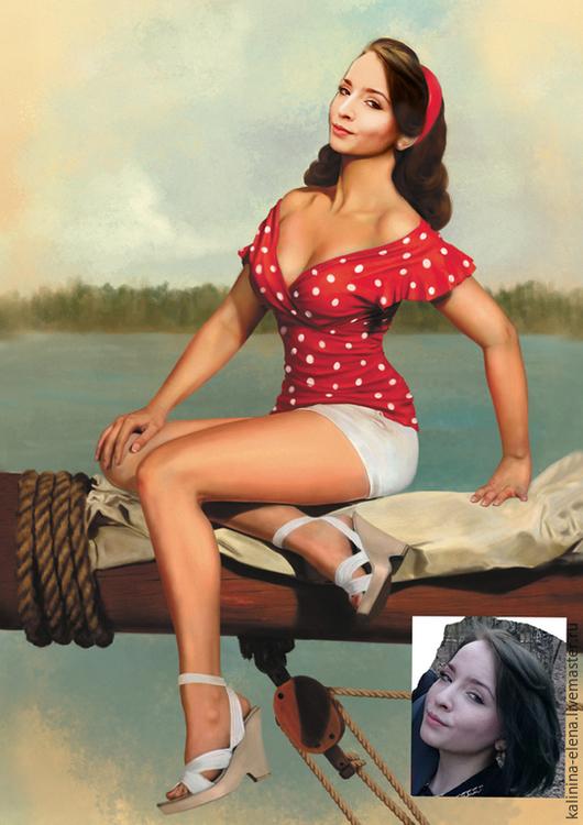 Фото-работы ручной работы. Ярмарка Мастеров - ручная работа. Купить Фотоколлаж женский. Handmade. Фотоколлаж, дизайн, недорогой подарок